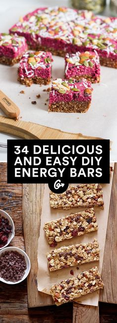 Save money by making your own portable snacks that taste way better than the packaged kind. #bars #cheap #recipes http://greatist.com/eat/diy-energy-protein-bar-recipes