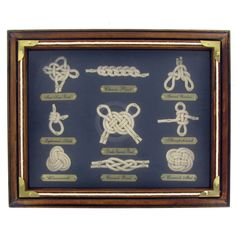 Get Sailor Knots Shadow Box online or find other Wall Art products from HobbyLobby.com