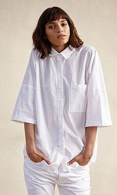 Boyfriend shirt - Plümo Ltd