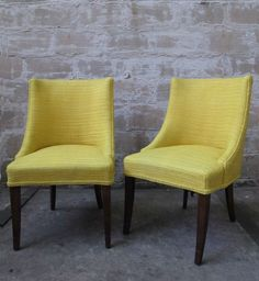 PAIR OF MID CENTURY MODERN LOUNGE CHAIRS AFTER HARVEY PROBBER