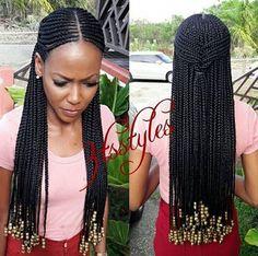 Black Girl Braids, Braids For Black Hair, Girls Braids, Braided Hairstyles For Black Women, African Braids Hairstyles, Girl Hairstyles, African Braids Styles, Weave Hairstyles, Curly Hair Styles