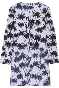 Tomas Maier|Printed cotton mini dress|NET-A-PORTER.COM