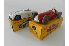 Lot 506 - Two boxed Dinky Toys, a No. 232 Alfa Romeo and No. 133 Cunningham C.