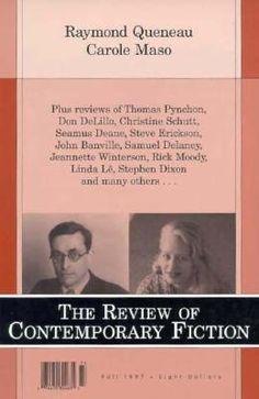 The Review of Contemporary Fiction: Raymond Queneau / Carole Maso