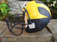 Michigan Wolverines Helmet Pinata
