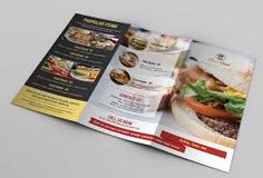 Menu Template is a highly flexible and easily customizable Photoshop PSD food menu template for restaurants, eateries, cafes, coffee houses etc. Perfect for any type of food menu or Menu Pdf, Food Menu Template, Restaurant Menu Template, Wedding Menu Template, Restaurant Menu Design, Menu Templates, Take Out Menu, Menu List, Leaflet Design
