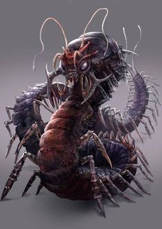 "MONSTER of the FROZEN WASTE.The ""REMORHAZ""."