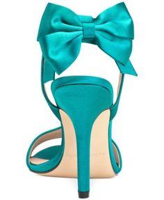 Menbur Milan Bow Evening Sandals