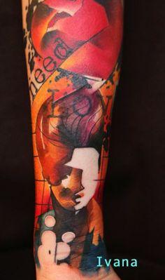 Ivana tattoo