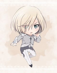 Yuri!!! on Ice ✧ Chibis