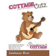 Cottage Cutz - Die - Jamboree Bear