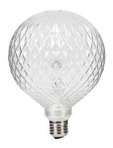 Designet glasslampe