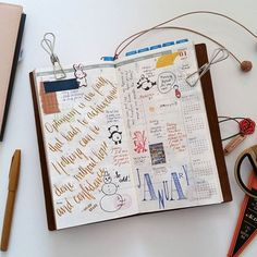 Traveler's Notebook //+. Week 01.2017 First week of the year! (Also, I am alive! I just finished taking the MCAT a week ago, and now, I'm catching up on my TN. Sorry for the wait!)