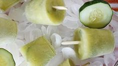 Sweet, spicy and cool popsicles made with fresh cucumber and zippy jalapeño pepper.