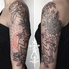 first session on sofie's half sleeve! looking forward to finish next time…