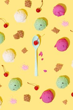 Ice Cream Delight / Violet Tinder Studios