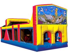 Brilliant Under The Sea Inflatables Games Home Interior And Landscaping Eliaenasavecom