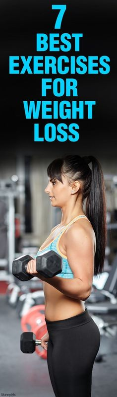7 Best Exercises for Weight Loss! Efficient and useful.
