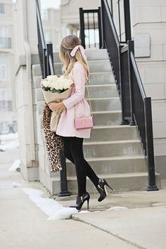 b15 Outfits with Black Tights-20 Ways to Wear Black Tights