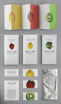 Pieria & Dion Packaging by Leo Porto, via Behance