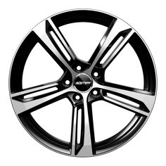 Paky Black Diamond Alloy wheel / Cerchio in lega leggera Paky Nero Diamantato Front