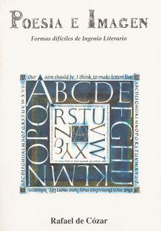 «Poesía e imagen. Formas difíciles de ingenio literario» (1991), de Rafael de Cózar. Edición príncipe.