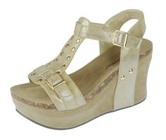 874acfe09da4c Pierre Dumas Women s Hester-2 Wedge Sandals   Find out more details by  clicking the