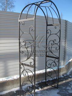 Кованые садовые арки на заказ в СПб