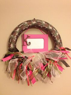 Baby Girl Camo & Pink......love this in her room!!!