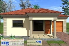 Round House Plans, Small Modern House Plans, Free House Plans, Small House Design, House Floor Plans, 2 Bedroom House Plans, Site Plans, Garage Plans, Home Design Plans