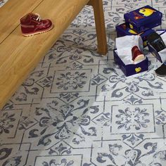 victorian floor tiles blue - Google Search