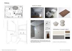 Esame finale corso interior design (www.madeininterior.it): progetto di Ramona Bartesaghi