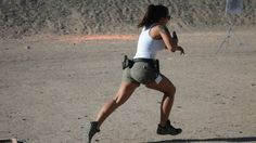 Michelle Viscusi Shooting Spring Steel With Her Glock 34 9mm - You…