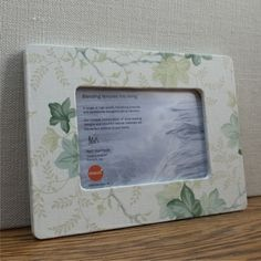 "Ivy Trail Photo Frame for 4""x6""  (10 x 15cm) $27.00"