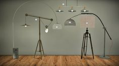 MXIMS - LIGHTING UPDATE II Urban Industrial Floor Lamp ...