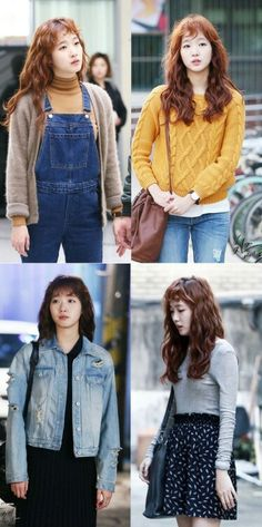 """Cheese in the Trap"" outfits ..recently I have been addicted to her casual style"