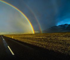 Somewhere along this road you find more than just a pretty photo. by chrisburkard