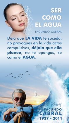 Spirituality, Movie Posters, Movies, Inspirational, Change Of Life, Facundo Cabral, Self Esteem, Positive Quotes, Thoughts