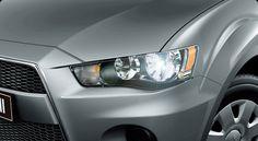 Outlander = Efficiency and economy. Mitsubishi Outlander.