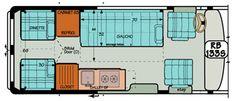 "Sportsmobile Custom Camper Vans - Sprinter Standard Regular Body ""RB"" Plans"