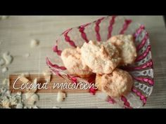 Watch how to make yummy, classic, gluten free coconut macaroons