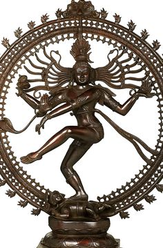 Nataraja means Lord of the Dance. The Hindu god Shiva assume this form as the cosmic dancer. Lord Of The Dance, Nataraja, Brass Statues, Hindu Art, India, Gods And Goddesses, Hinduism, Shiva, Law Of Attraction