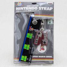スーパーマリオブラザーズ Nintendo携帯ストラップ ファミコンコントローラー