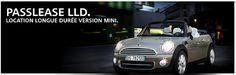 Passlease LOA Mini voiture BMW Financement LDD auto www. Bmw, Solution, Fishing Line, Automobile