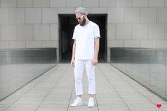 white fashion men - Google Search