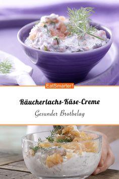 Räucherlachs-Käse-Creme - mit Dill und Meerrettich - kalorienarm - schnelles Rezept - einfaches Gericht - So gesund ist das Rezept: 8,6/10 | Eine Rezeptidee von EAT SMARTER | Osteoporose, Reizdarm, Stillzeit, Stress, Wechseljahre, Halbzeit-Rezepte, Osterbrunch, Weihnachtsbrunch, Weihnachtsfrühstück, 15-Minuten-Rezepte, Blitzrezepte, Einfach, Hausmannskost, Picknick, Schnelle Rezepte, Fisch, Milchprodukte, Brunch, Brotzeit, Frühstück, Aufstrich, Herzhaftes Frühstück #dips #gesunderezepte Healthy Recipes, Healthy Food, Dips, Eat Smarter, Brunch, Low Carb, Keto, Vegetables, Fruit