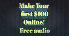 Discover the nr # trick to generate your first $100 Online! It's FREE!