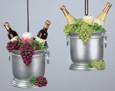 Wine ornaments