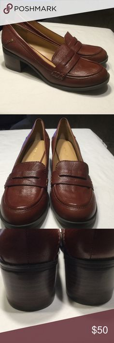 Nine West brown loafers! NEW! Soft leather Nine West Shoes Flats & Loafers