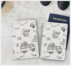 Good trip passport holder faux leather passport by whaleyshop